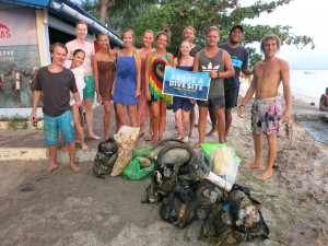Great work -- more marine debris removed!
