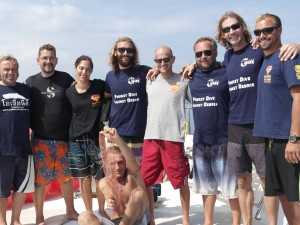 Instructor Team for dive