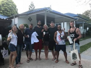 Coral Grand team win prizes from PADI & Aquamaster