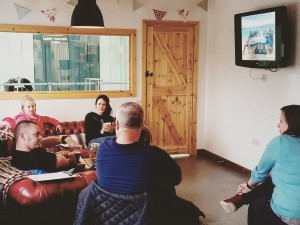 Theory session for the Dive Against Debris Specialty Course at The Fifth Point Diving Centre