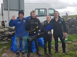 Dive Academy Beach Clean & Dive Against Debris