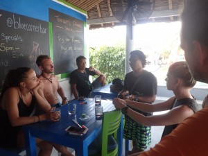 Dive Against Debris Briefing for the PADI Divemaster Candidates