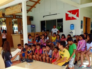 Introduction to SCUBA Diving breifing.