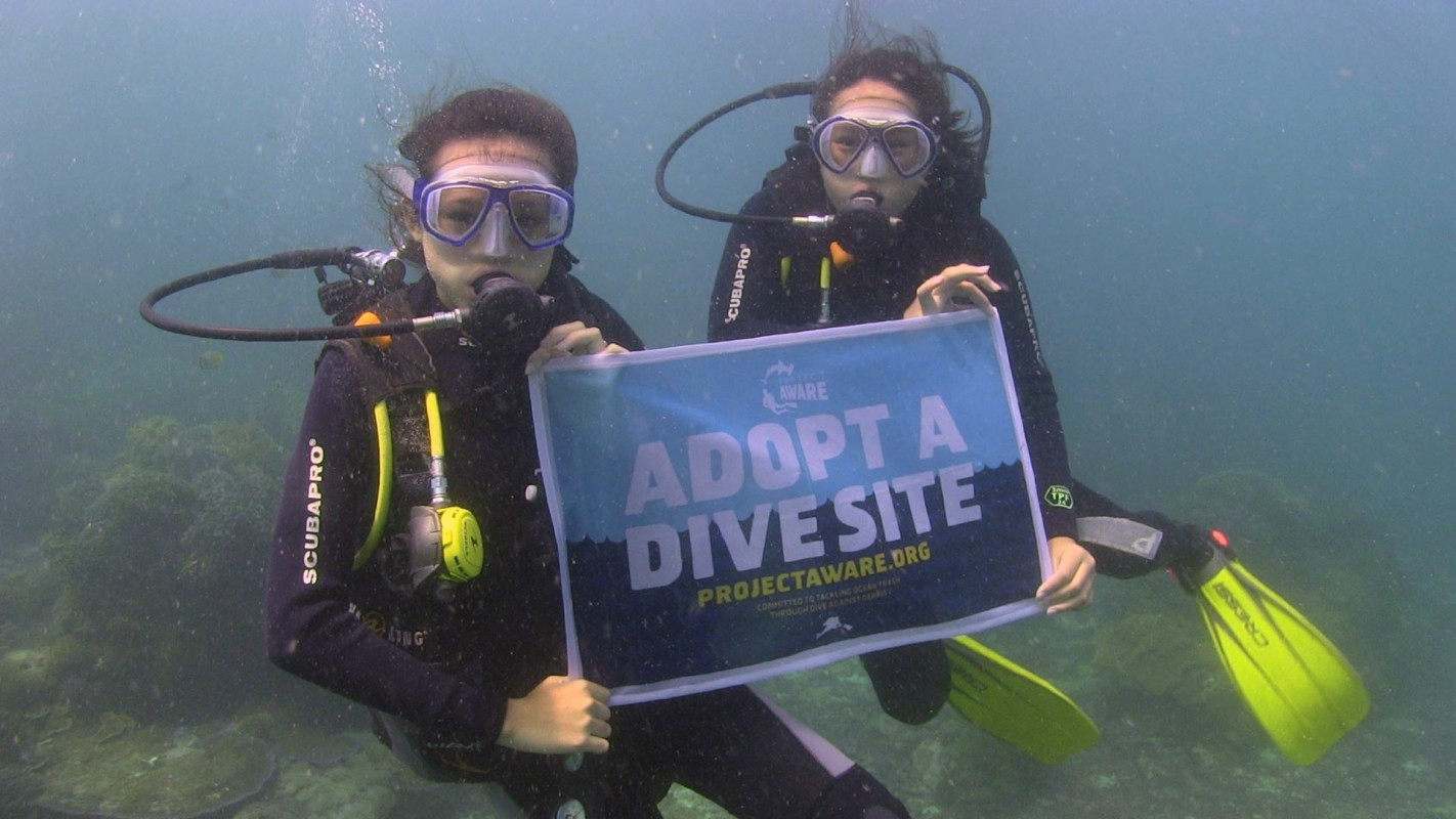 Adopt a Dive Site Underwater