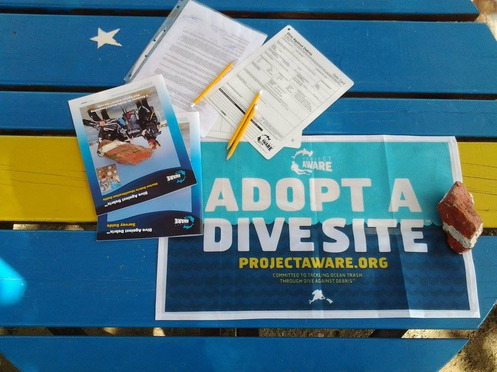 Image of Adopt A Dive Site materials