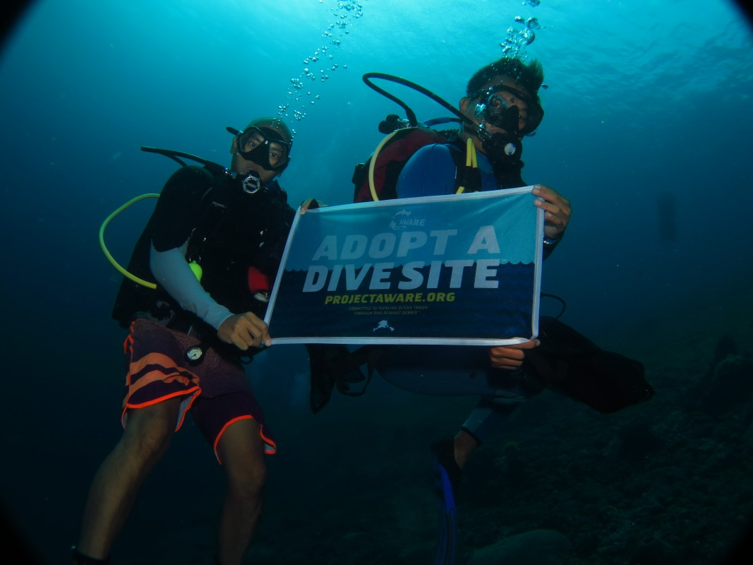 Blue Corner Dive Adopt A Dive Site with Project AWARE