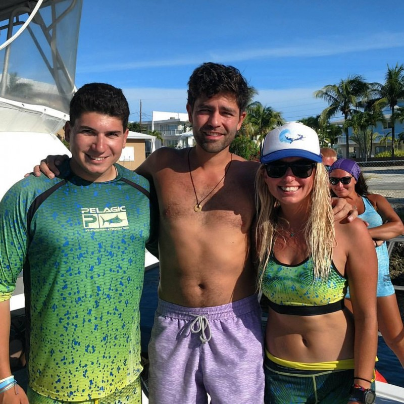 Jack Fishman and Shayna Dive Against Debris with Adrian Grenier