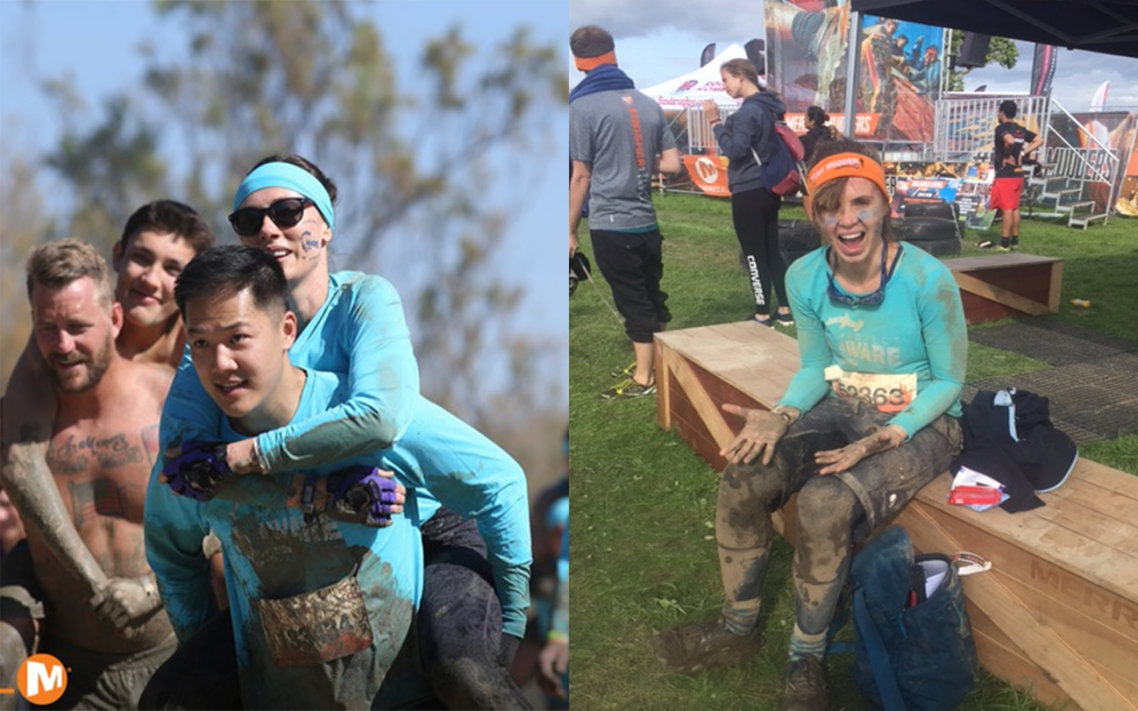 Project AWARE Team get tough with the Tough Mudder