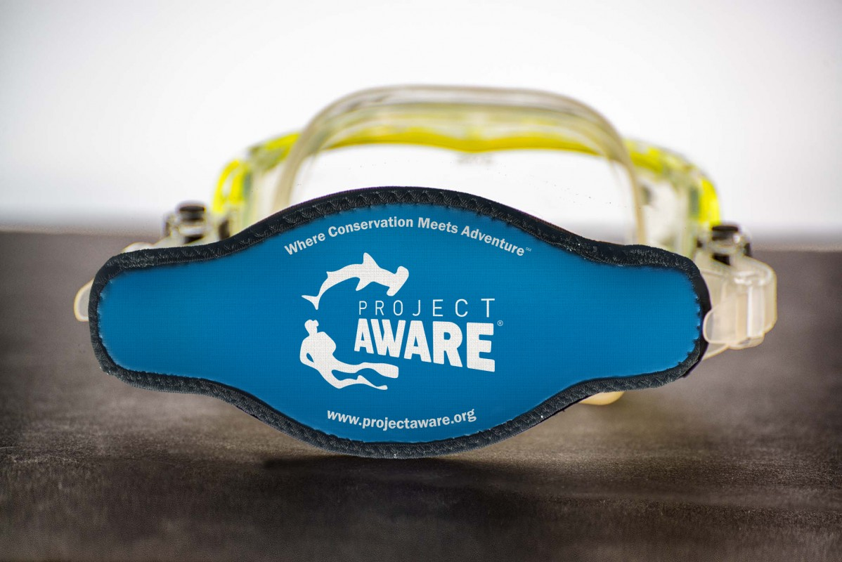 image of project aware mask strap 2019