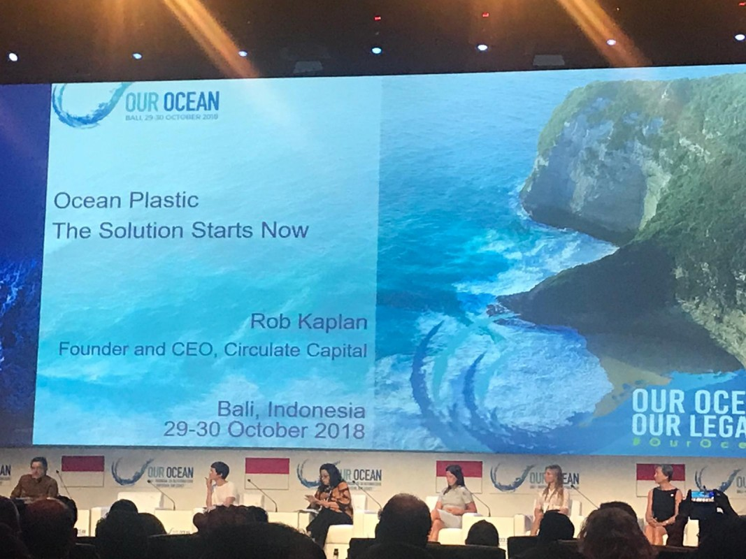 image of Our Ocean 2018 conference
