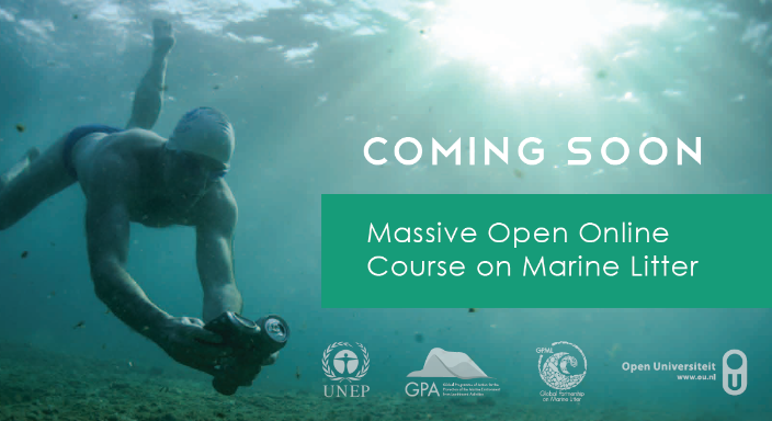 image of mooc marine litter 2019