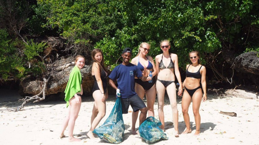 Big Blu Mafia Island Dive Centre Beach Debris Clean-up