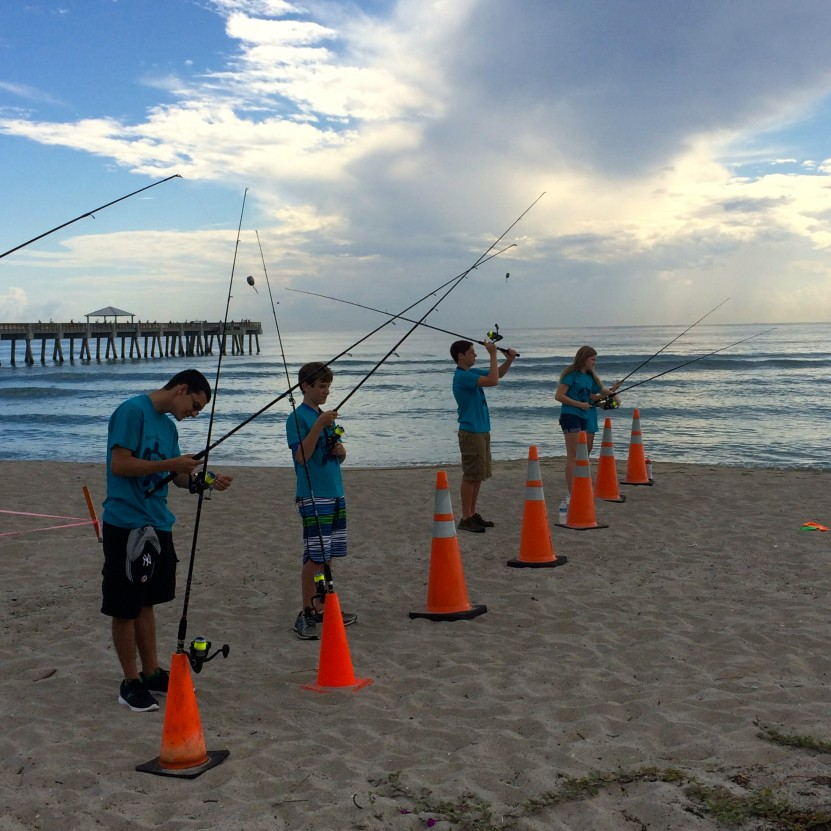 Lessons in ethical angling project aware for Juno pier fishing report