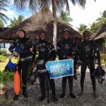 Big Blu Mafia Island Dive Centre Dive Against Debris Marine Clean-up