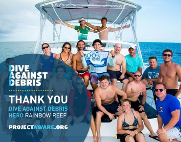 Dive Against Debris Heroes in Florida Keys