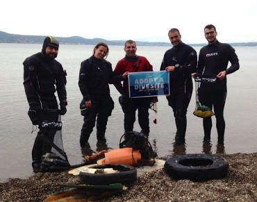 Protecting Italy's Seas through Adopt a Dive Site™